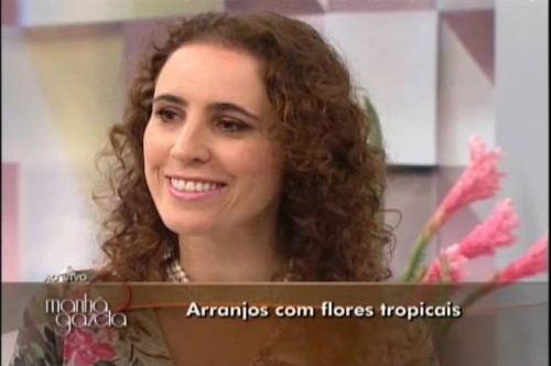 Arranjos com Flores Tropicais – TV Gazeta