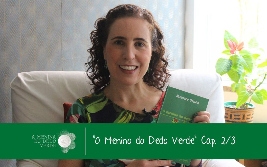 Caps 2 e 3 do Audiolivro O Menino do Dedo Verde