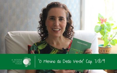 Caps 7, 8 e 9 do Audiolivro O Menino do Dedo Verde